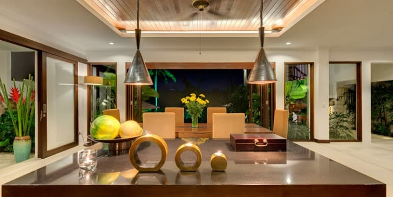 Villa-Da-Kitchen-and-dining-areas-at-night