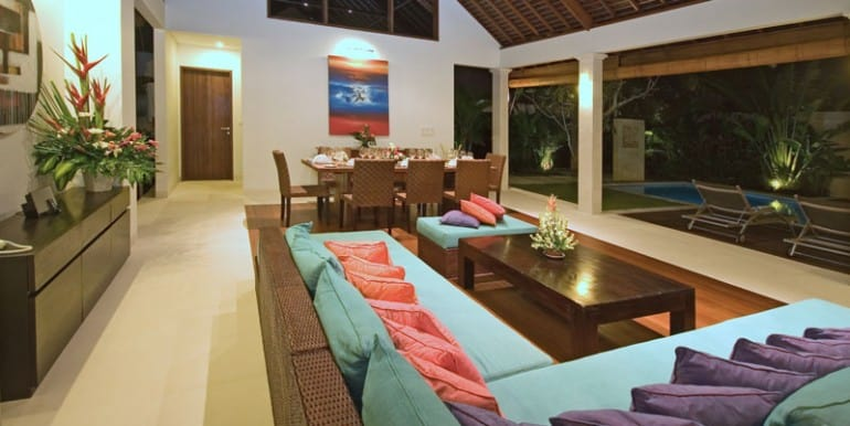 Villa-NAK-Living-area-view-to-pool-at-night